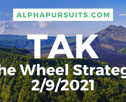 TAK the wheel strategy